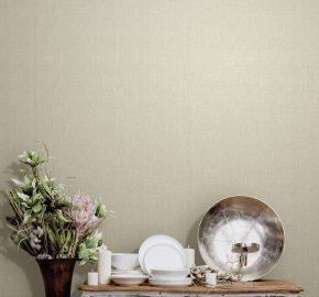 3702 Serie | Papel pintado estilizado de la textura de la tela de la arpillera