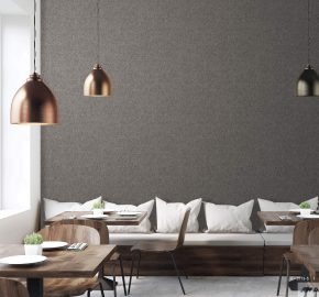 Serie 3713 | Papel tapiz de mica con textura lisa.