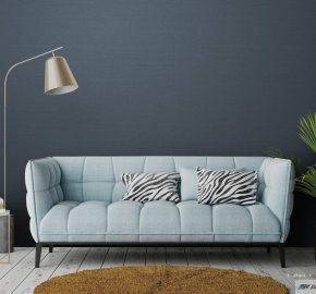 Serie 3716 | Papel pintado de lino áspera textura de tela