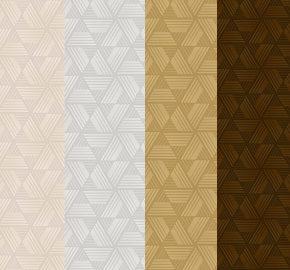 Serie 1616 | Papel pintado liso pequeño de forma diamantada