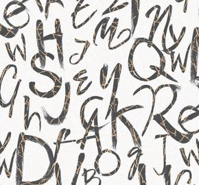 4702 Serie | tipografía de estilo moderno papel pintado