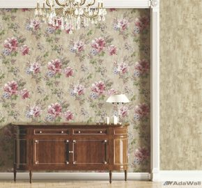 4708 Serie | Papel pintado del manojo de flores