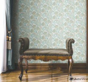 Serie 4711 | Papel pintado paisley clásico colorido