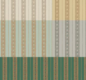 5808 Serie | Papel pintado clásico delicado adorno de rayas