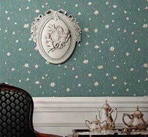 7800 | Ramas de árbol en flor – papel pintado con motivos florales
