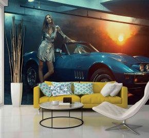 Carro elegante azul – M 926
