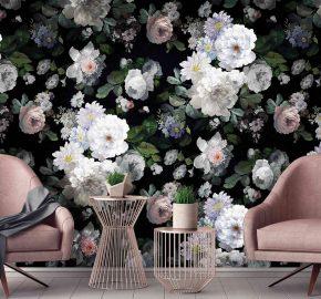 Flores vintage oscuro – M 701